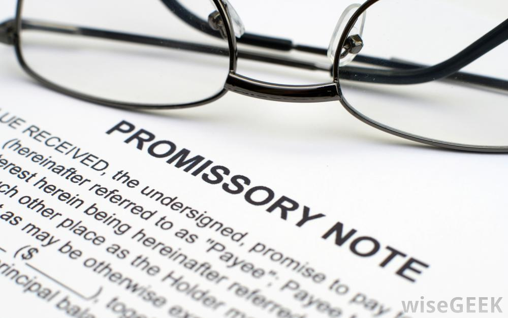 Is Your Promissory Note A Security – Promissory Note Parties